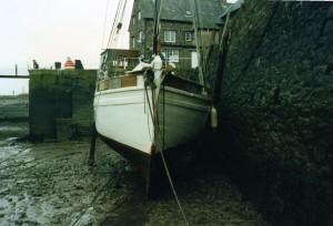 Breeze, under survey by Kathleen Kilbey Associates at Porlock Weir in 1992