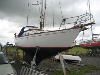 Morgan-Giles 30 Yacht Surveyed at Thornbury 2013