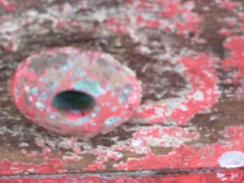 Timber Electrolysis around bronze hull fitting