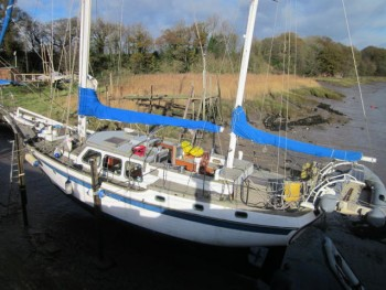 Vagabond 47 Surveyed at Lydney Harbour 2015