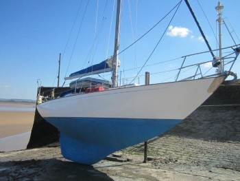Kim Holman Northney 34;  Insurance Survey at Lydney Harbour 2015