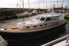 Aquastar 46 en route for Med.