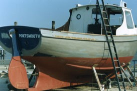 Timber Fishing Vessel - Surveyed in1989