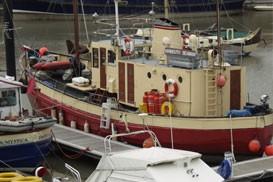 "Ex Motor Fleet Vessel ""Yarmouth Seaman""  Surveyed in 1995"