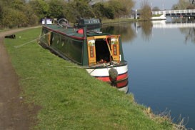 Narrow-Boat. Surveyed at Saul Junction in 2012